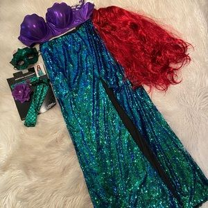Women's mermaid complete costume